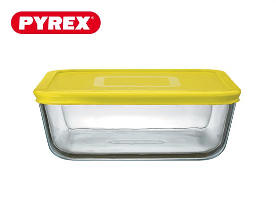 Pyrex® Plat carré 2L avec couvercle