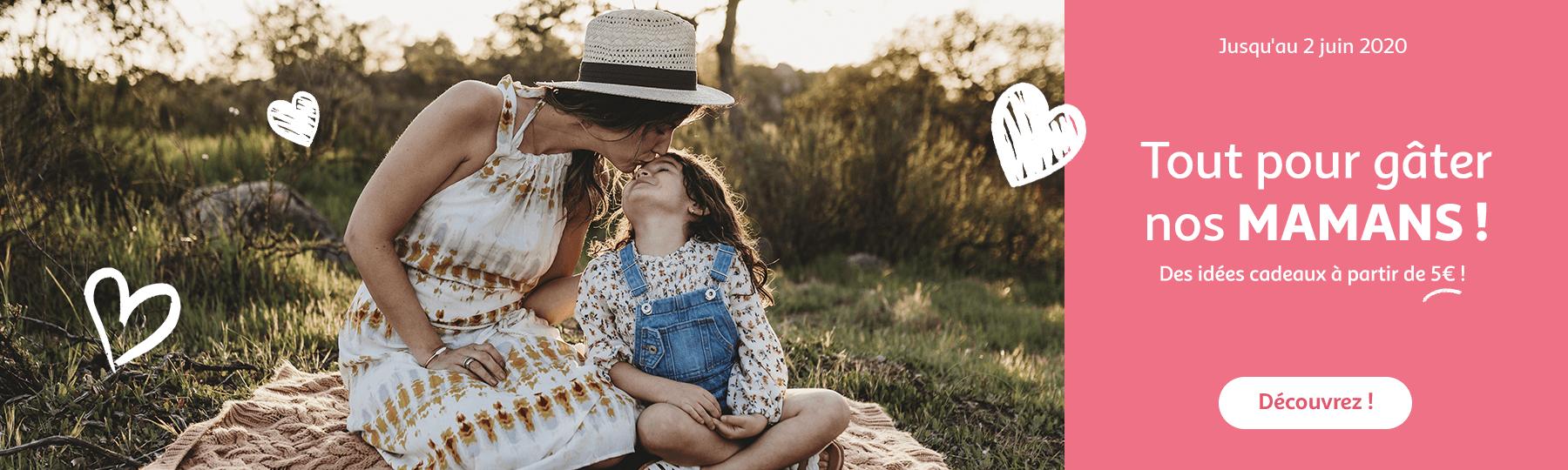 Tout pour gâter nos mamans ! Des idées cadeaux à partir de 5€, jusqu'au 02 juin 2020