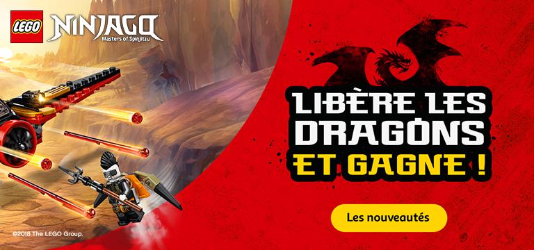 Ninjago : libère les dragons et gagne !