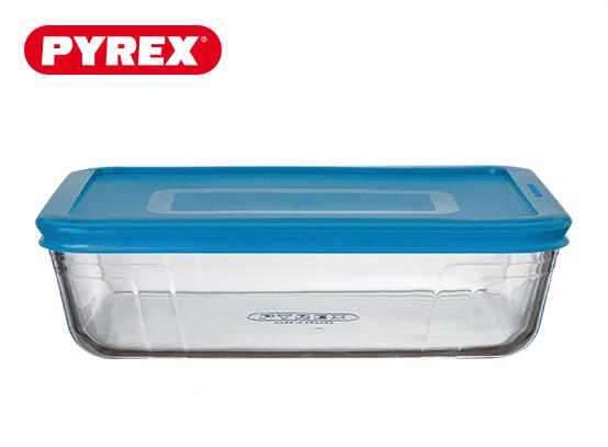 Pyrex® Plat rectangulaire 2,6L avec couvercle
