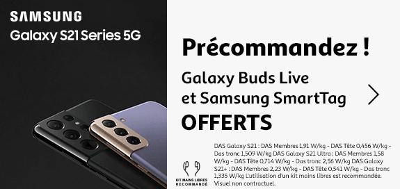 Précommandez le Samsung Galaxy S21 series 5G