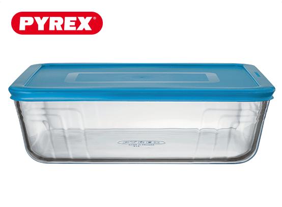 Pyrex® Plat rectangulaire 4L avec couvercle