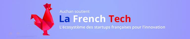 Auchan soutient la French Tech
