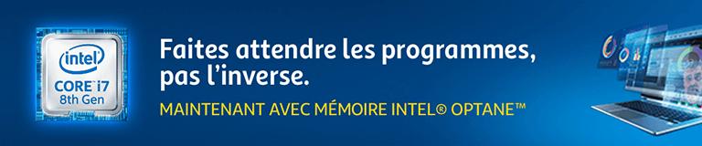 Intel : Faites attendre les programmes, pas l'inverse