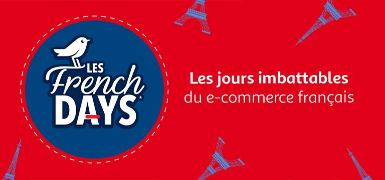Fin avril 2019:les French Days, les jours imbattables du e-commerce français