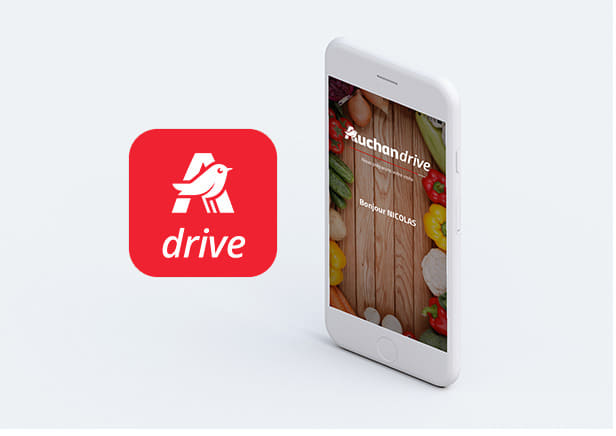 Carte Auchan Drive.Applications Auchan Sur Android Et Iphone Telechargement