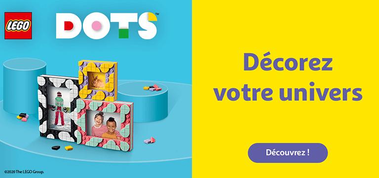 Découvrez notre gamme Lego® Dots™ pour décorer votre univers !