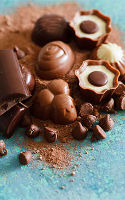 Le chocolat de fête