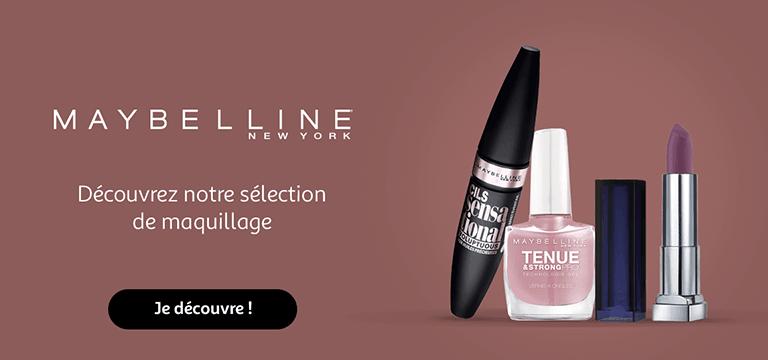 Maybelline - New York : découvrez notre sélection de maquillage