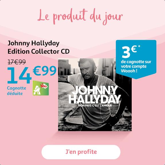 Johnny Hallyday - Edition Collector CD