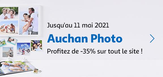 Auchan photo, profitez de -35% sur tout le site !