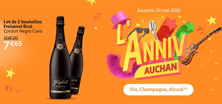 Du 23 au 29 mai : l' Anniv Auchan
