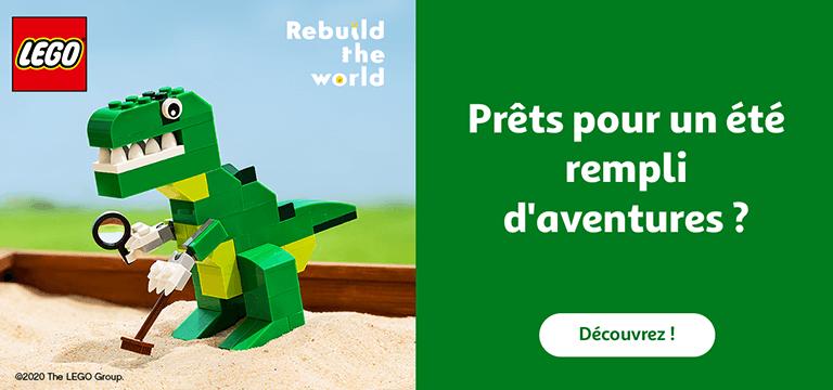Prêts pour l'été ? Découvrez notre gamme Lego® pour l'été !