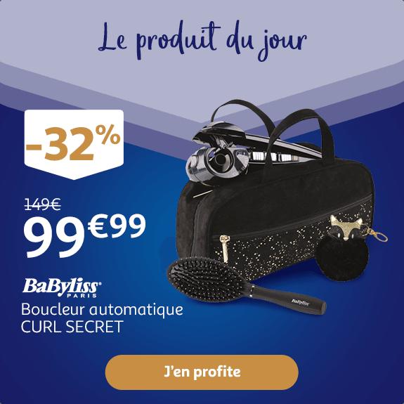 BABYLISS Boucleur automatique CURL SECRET : 99€ au lieu de 149€