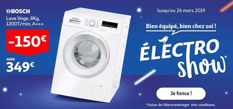 Jusqu'au 26 mars 2019 : Bien équipé, bien chez soi : Electro Show !