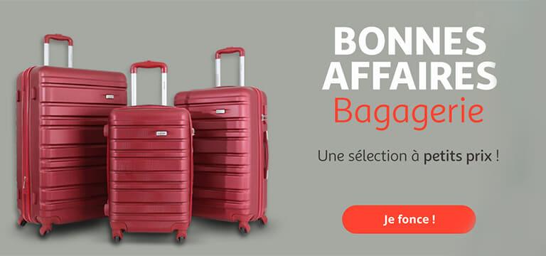 Bonnes affaires bagagerie, une sélection à petits prix !