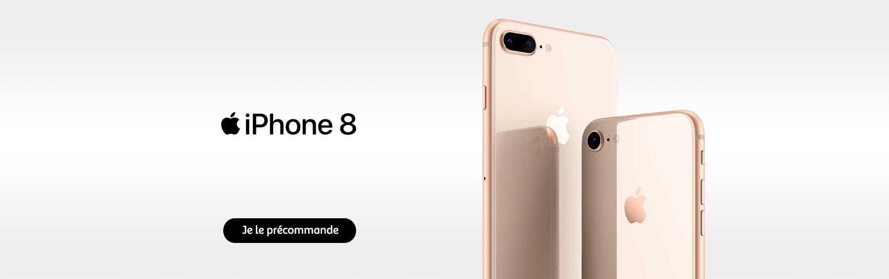 iPhone8 en précommande